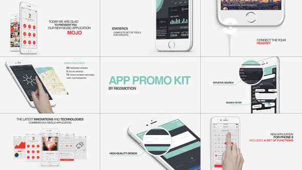 After Effects Mobile Promo Templates from VideoHive
