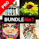 4in1 Bundle - Abstractum - Photoshop Actions - GraphicRiver Item for Sale