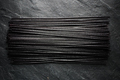 Black dry rice noodles on black stone - PhotoDune Item for Sale