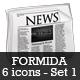 Formida Matte 3D Icon Set 1 - GraphicRiver Item for Sale