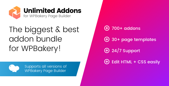 Unlimited Addons for WPBakery Page Builder (Visual Composer) - Wordpress plugins - Hire Wordpress Freelancers from FreelancerCV.com