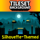 Silhouette Shadow Tileset and Background - GraphicRiver Item for Sale