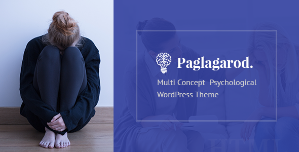 Paglagarod - Psychology & Counseling WordPress Theme