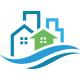 Wave Real Estate Logo - GraphicRiver Item for Sale