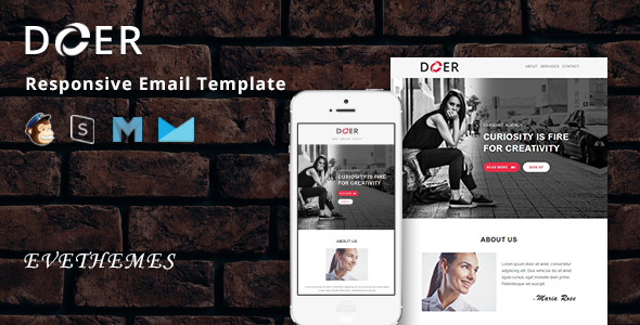 Doer - Responsive Email Template