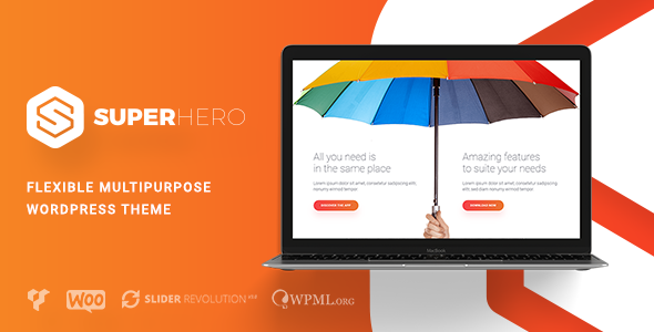 Superhero — Creative Multi-Purpose WordPress Theme