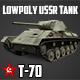T-70 Real Tank GameReady - 3DOcean Item for Sale