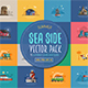 Summer Seaside Cards - GraphicRiver Item for Sale