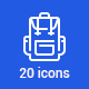 Outdoor Activity Icons - GraphicRiver Item for Sale