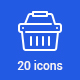 20 Retail Icons - GraphicRiver Item for Sale