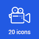 20 Photo and Video Icons - GraphicRiver Item for Sale