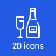 20 Party Icons - GraphicRiver Item for Sale