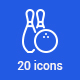 20 Sport Icons - GraphicRiver Item for Sale