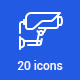 20 Security Icons - GraphicRiver Item for Sale