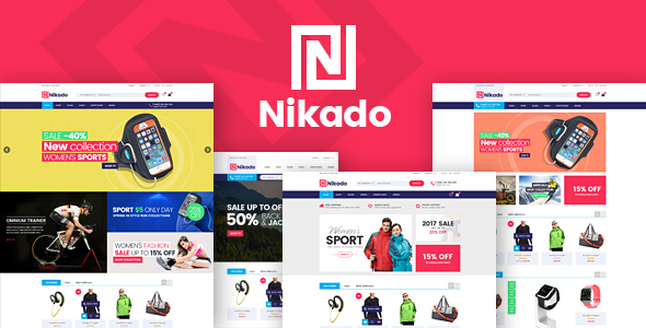 Nikado - Responsive Theme for WooCommerce WordPress