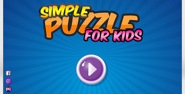 Simple Puzzle For Kids
