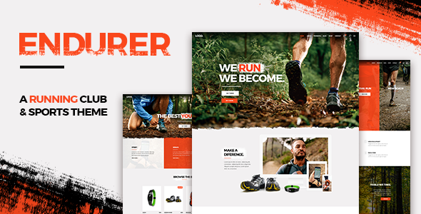 Endurer - Running Club and Sports Theme