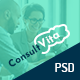 Consult Vita - Consulting PSD Template - ThemeForest Item for Sale