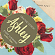 Floral Watercolor Business Card V.2 - GraphicRiver Item for Sale