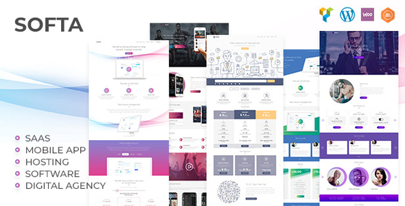 Softa - SaaS, Software & WebApp WordPress