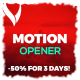 Motion Opener - VideoHive Item for Sale