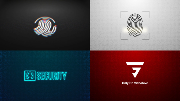 Fingerprint Logo Reveal