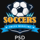 SoccersPress - Sporting & News Magazine PSD Template - ThemeForest Item for Sale