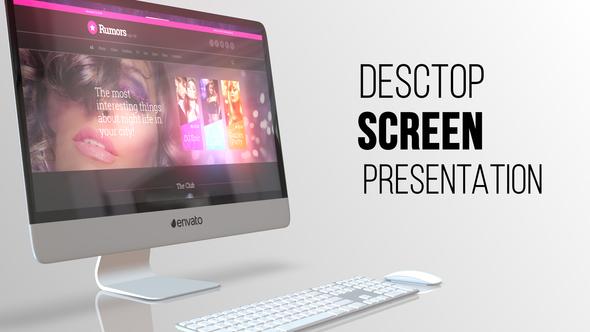 Desktop Screen Presentation