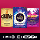 3 in 1 Worship Church Flyer/Poster Bundle - GraphicRiver Item for Sale