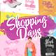 Shopping Days (Social Media) - VideoHive Item for Sale