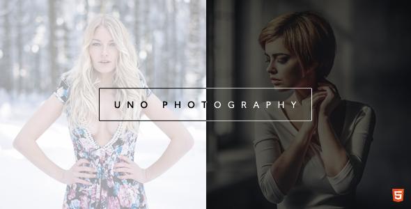 Uno - Creative Photography Template