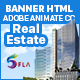 Real Estate Banner Ad HTML5 - 7size (Animate CC)