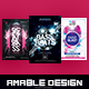 3 in 1 Sounds of Beats Flyer/Poster Bundle - GraphicRiver Item for Sale