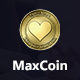 MaxCoin - Cryptocurrency HTML Landing Page - ThemeForest Item for Sale