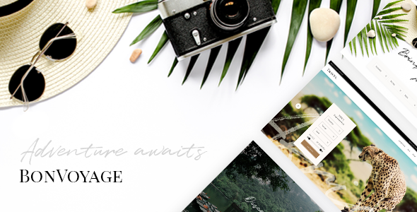 BonVoyage - Travel Agency and Tour Theme