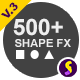 Shapix - Shape Elements Pack - VideoHive Item for Sale