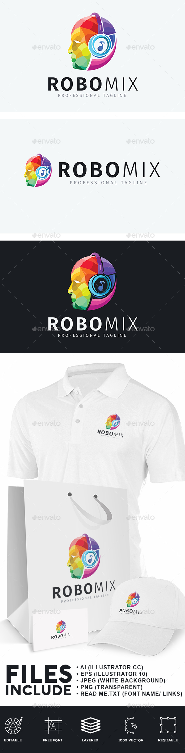 Audio Robot Logo