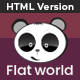 Flat World - Multi-Purpose Category Site Template - ThemeForest Item for Sale
