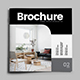 Square Minimal Interior Design Trifold - GraphicRiver Item for Sale