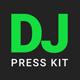 GrooveLine - DJ Press Kit / DJ Resume / DJ Rider PSD Template - GraphicRiver Item for Sale