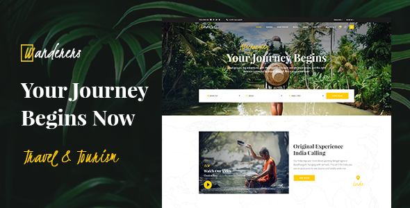 Wanderers - Adventure Travel & Tourism Theme