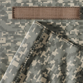 Closeup of Camouflage Uniform and Blank Name Patch - PhotoDune Item for Sale