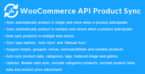 WooCommerce API Product Sync with Multiple WooCommerce Stores (Shops) Download
