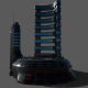 Sci-fi Hotel - 3DOcean Item for Sale