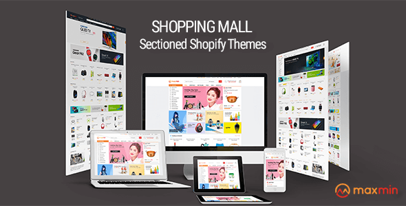 MAXMIN - Dropshipping AliExpress Clone Shopify Theme - Super Fast, Sections Frontpage Builder
