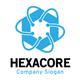 Hexagon Core Technology Logo - GraphicRiver Item for Sale