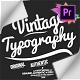 Vintage Typography Pack 26 Animated Badges   Mogrt - VideoHive Item for Sale
