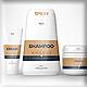 Cream & Sahmpoo Cosmetic Mockups - GraphicRiver Item for Sale