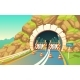 Vector Background with Roadwork in Tunnel - GraphicRiver Item for Sale