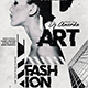 A3 Poster / Flyer Deconstructivism Poster Template - GraphicRiver Item for Sale